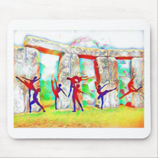 Dancers at Stonehenge Mouse Pad
