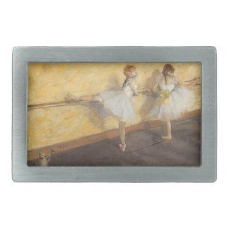 Dancers at the Bar by Edgar Degas, Vintage Ballet Belt Buckle