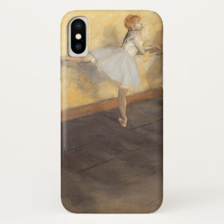 Dancers at the Bar by Edgar Degas, Vintage Ballet iPhone X Case