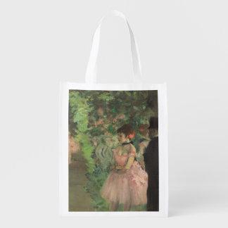 Dancers Backstage, 1876-1883 (oil on canvas) Grocery Bag