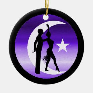 dancers christmas tree ornament