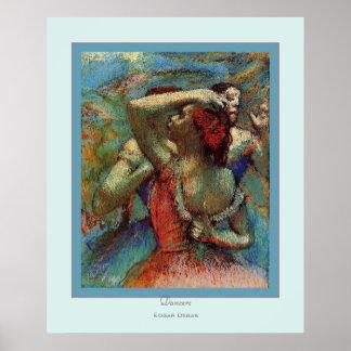Dancers~ Edgar Degas Poster