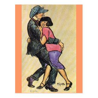 Dancers - Heinrich Zille Post Cards