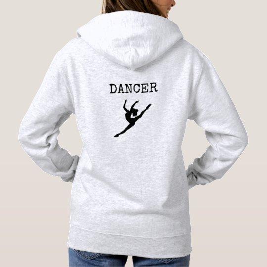 Dancer's hooded sweatshirt