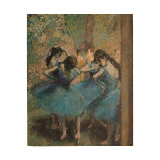 Dancers in blue, 1890 2 wood prints