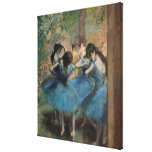 Dancers in blue, 1890 canvas prints