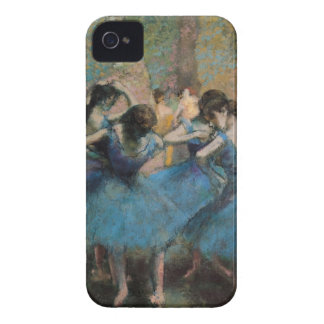 Dancers in blue iPhone4 Case