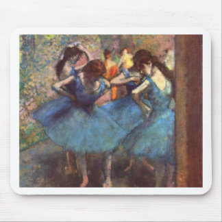 Dancers in Blue Mouse Pad