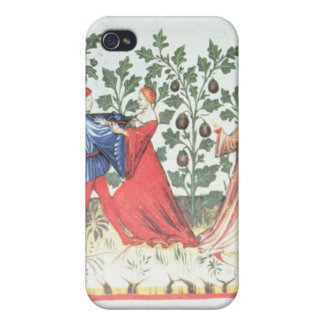 Dancers in front of Broom Plants, 13th century Cover For iPhone 4