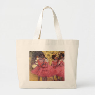 Dancers in Pink by Edgar Degas Bag