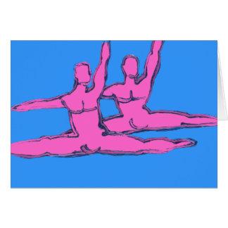 Dancers Jete Duo Card