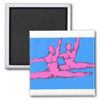 Dancers Jete Duo Magnet