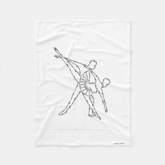 DANCERS - MINIFACES FLEECE BLANKET