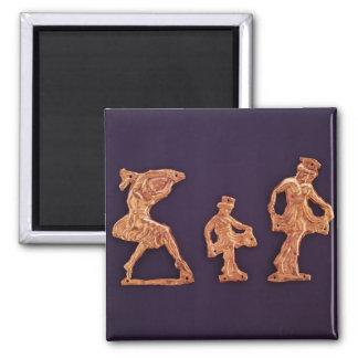 Dancers of goddess Demeter Magnet