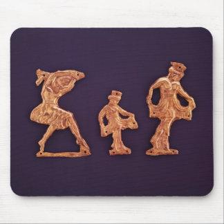 Dancers of goddess Demeter Mouse Mat