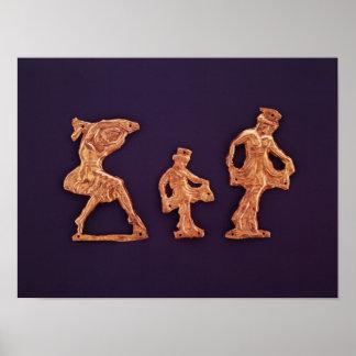 Dancers of goddess Demeter Poster