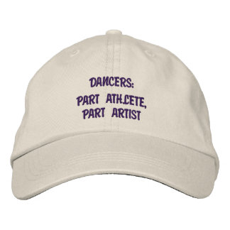 Dancers - Personalized Adjustable Hat Embroidered Cap