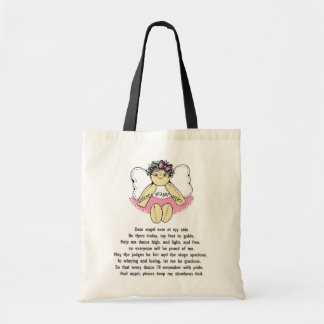 DANCERS PRAYER BUDGET TOTE BAG