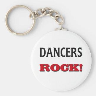 Dancers Rock Key Chains