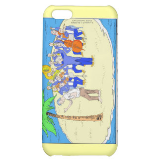 Dances W/Palm Trees Funny Gifts Mugs Etc iPhone 5C Case