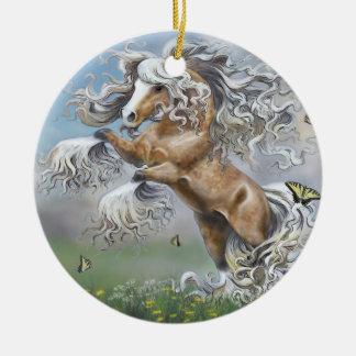 Dances With Butterflies Christmas Ornament
