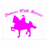 DANCES WITH HORSES POST CARDS