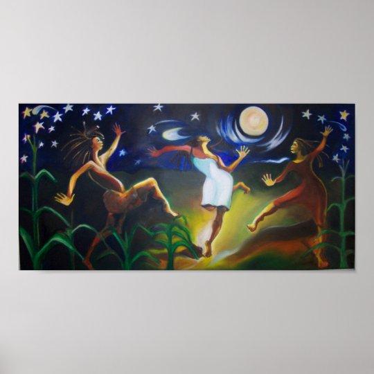 Dancin in the Moonlight Poster
