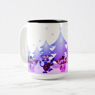 Dancin Prancin Reindeer Coffee Mug