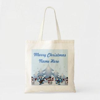 Dancin Prancin Reindeer Tote Bag