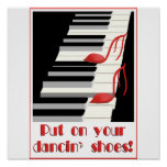 DANCIN' SHOES Poster