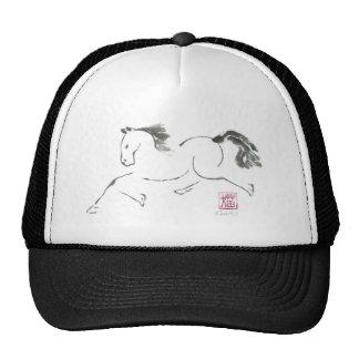 Dancin', Sumi-e Year of the Horse Hat