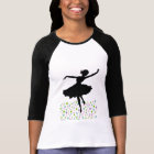 Dancing amongst the stars - pink sunset T-Shirt