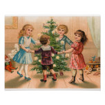Dancing Around the Christmas Tree Poster