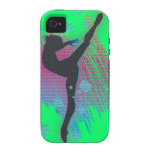 Dancing Artist Phone cases Green Case For The iPhone 4