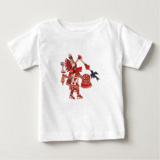 Dancing Aztec shaman warrior Baby T-Shirt