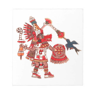 Dancing Aztec shaman warrior Notepads