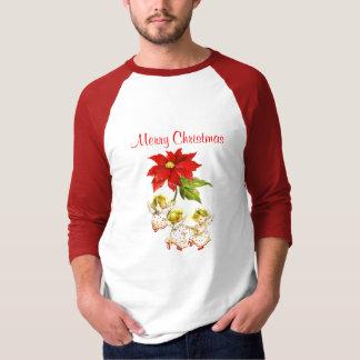 Dancing Baby Angels Christmas Men's Shirt
