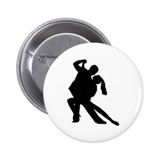 Dancing 6 Cm Round Badge