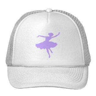 Dancing Ballerina in Lilac Periwinkle Trucker Hat