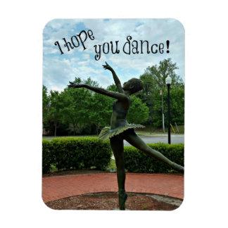 Dancing Ballerina Magnet