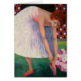 Dancing Ballerina Note Cards