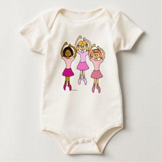 Dancing Ballerinas Gifts Baby Bodysuit