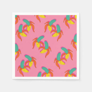 Dancing Banana Party Napkin Disposable Serviette