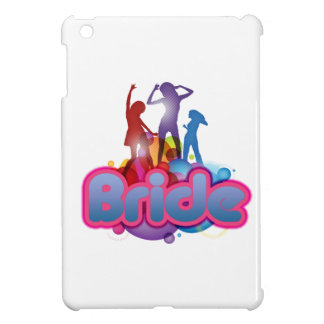 dancing blue pink bride to be future mrs gifts iPad mini cover