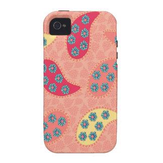 Dancing Boho Paisley iPhone4 Case