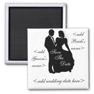 Dancing Bride and Groom Magnet