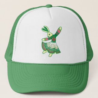 Dancing Bunny Trucker Hat