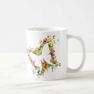 Dancing Butterfly Splash Coffee Mug