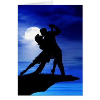 DANCING BY THE MOONLIGHT CARD