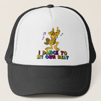 Dancing Cat Trucker Hat